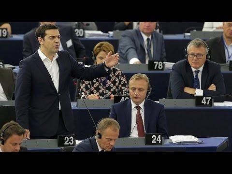 Α.Τσίπρας στο Ευρωκοινοβούλιο: «Η χώρα μου έχει μετατραπεί σε ένα πειραματικό εργαστήριο…