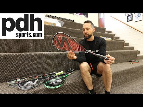 Preview of the new Salming 2018/19 squash rackets by PDHSports.com