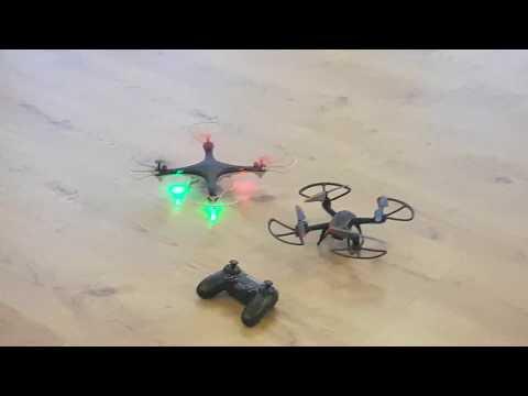 Vergleich Maginon Go vs Lidl Quadrocopter