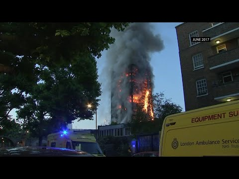 A lawsuit filed in Pennsylvania says faulty building materials helped spread a devastating fire at London's Grenfell Tower in 2017. More than 200 relatives of victims and survivors have joined the suit. (June 11)