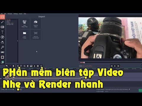 Phần mềm biên tập video nhẹ và render nhanh cho máy yếu   Movavi Video Editor