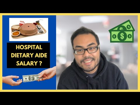 What is Hospital Dietary Aide Salary   Pay Per Hour - YouTube