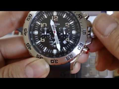cf2181a8d032 Reloj Nautica Hombre N14536g Nst Light Diving Nuevo En Caja -   2.999