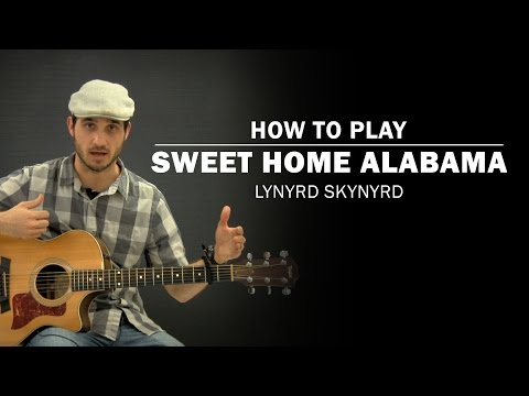 D c g lord, they get me off so much, d c g they pick me up when i'm feeling blue, now how about you. How To Play Sweet Home Alabama Acoustic Version By Lynyrd Skynyrd Guitar Lessons Ultimate Guitar Com