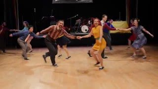 Lindy Bout 2016 - Stomp Off - Team Showcase