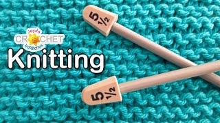 Garter Stitch Washcloth Pattern & Tutorial - Knitting For Beginners