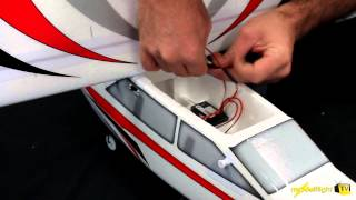 E-Flite Apprentice S RC Plane - Assembly and Action Video