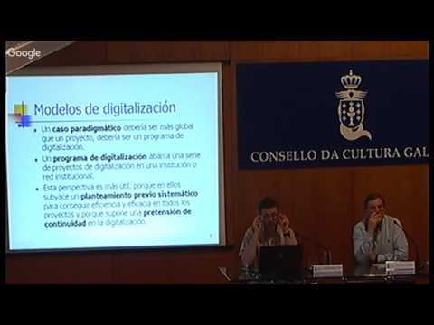 Análises de casos de dixitalización de arquivos que resultan paradigmáticos: cara á definición dun modelo para a representación dixital do patrimonio documental