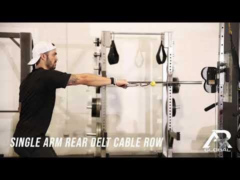 Single Arm Rear Delt Cable Row