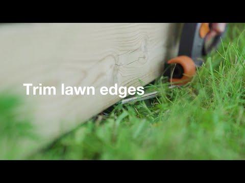 Nožnice na trávu a živý plot FISKARS PowerLever GS 53