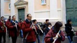 preview picture of video 'Gallese 8 dicembre duomo banda'
