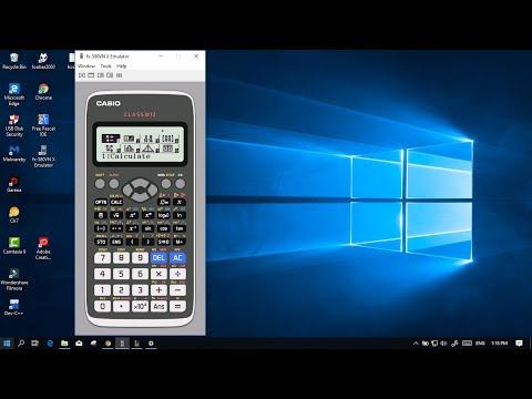 Cách cài đặt giả lập CASIO FX-580VN X | Emulator