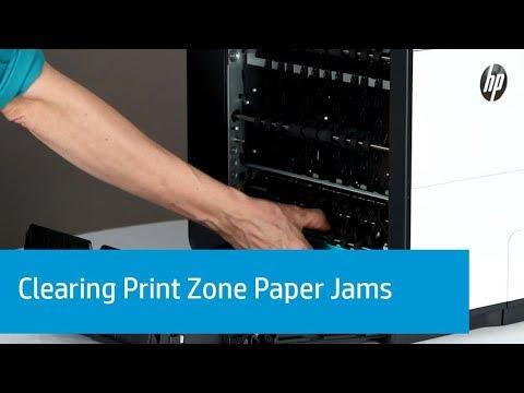 hp office jet X576 adf false paper jam clearing - смотреть онлайн на