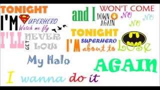 5 Seconds Of Summer - Superhero (lyrics video)