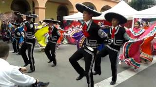 preview picture of video 'Baile típico Jalisciense 1 balet regional  Toluca'