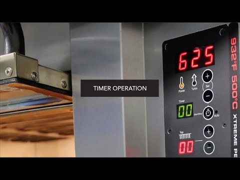 PizzaMaster Training Video 4 -  Timer Operation