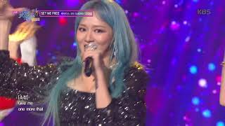 SET ME FREE - 레이디스 코드(LADIES' CODE) [뮤직뱅크 Music Bank] 20191018