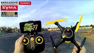 Syma X5UW Wi-Fi Fpv Tenergy limited Edition