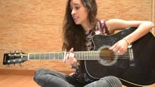 Me quedaré - Estopa (cover by Sandra Blázquez)