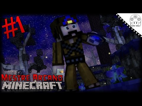 Mestre Arcano - Ep. #1 O Prelúdio da Magia [Simply Magic FTB PT-BR Minecraft]