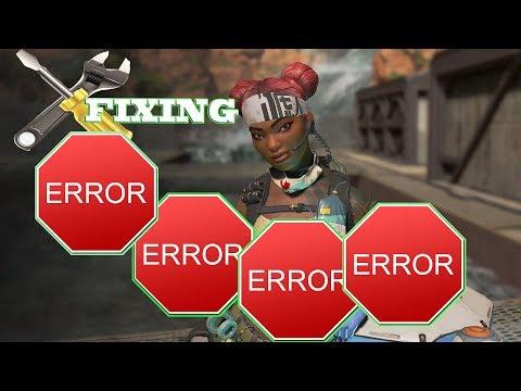 Fixing A lot of Apex Legends errors