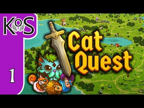 Cat Quest Ep 1: CUTE KITTY... DRAGONBLOOD??? - Punny Kitty RPG! - Let's Play, Gameplay