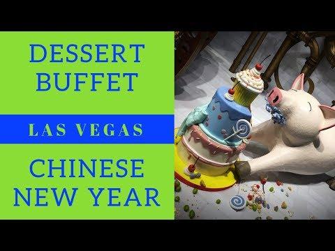 K-So Fun Kids Visit Las Vegas Pt 1 - Dessert Buffet - Chinese New Year