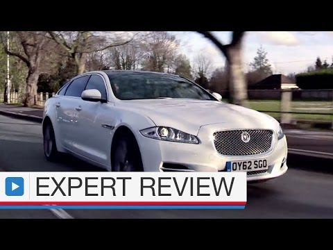 Jaguar XJL saloon expert car review