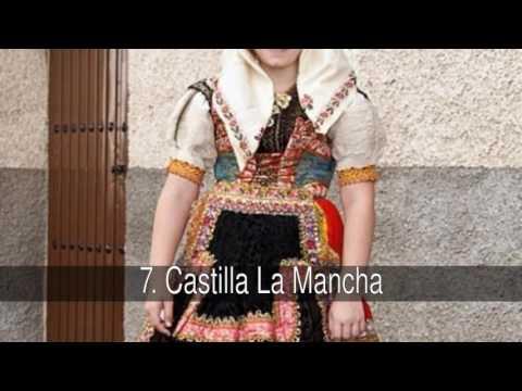Los mejores trajes típicos de España