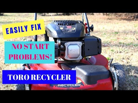 Kohler; Toro Lawn Mower Repair Won't Start? Step by Step Carburetor Repair  149 CC