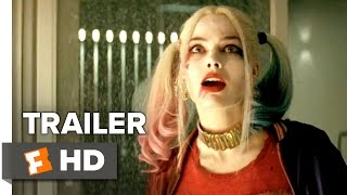Suicide Squad Official Trailer 1 2016  Jared Leto Margot Robbie Movie HD