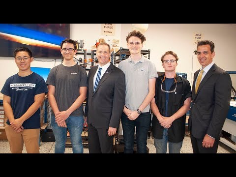 Top-Ranked NASA Official Visits Georgia Tech