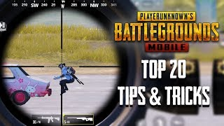 Top 20 Tips & Tricks in PUBG Mobile | Ultimate Guide To Become a Pro #6 - dooclip.me