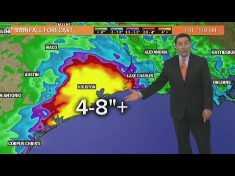 Invest 98 to bring heavy rain to Texas Gulf Coast this week
