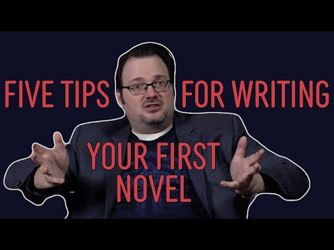 Five Tips for Writing Your First Novel—Brandon Sanderson
