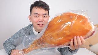 试吃云南特产火腿,500块钱一整只腿,年夜饭又多了一道菜
