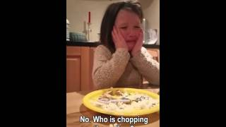 Adorable Irish girl explains she doesn't want to eat meat