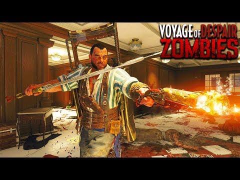 VOYAGE OF DESPAIR - MAIN EASTER EGG GAMEPLAY HUNT (Black Ops 4 Zombies Gameplay)
