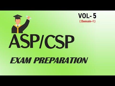CSP/ASP (Certified Safety Professional) Exam Preparation VOL-5 ...