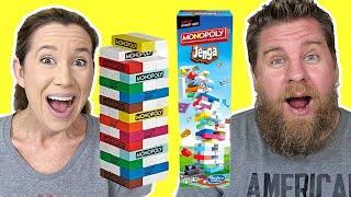 Hasbro Games Mash Ups Monopoly Jenga