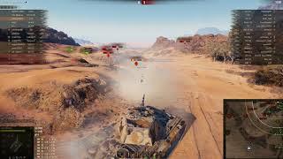 E 50, Песчаная река, Встречный бой