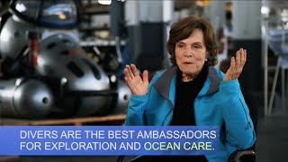 Catch this inspiring video of Dr Sylvia A Earle discussing why divers
