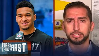 If I'm Miami, I wouldn't trade with Bengals for #1 pick — Nick Wright | NFL | FIRST THINGS FIRST