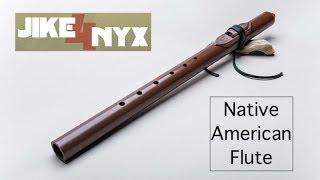 Flétna amerických indiánů včetně ukázky