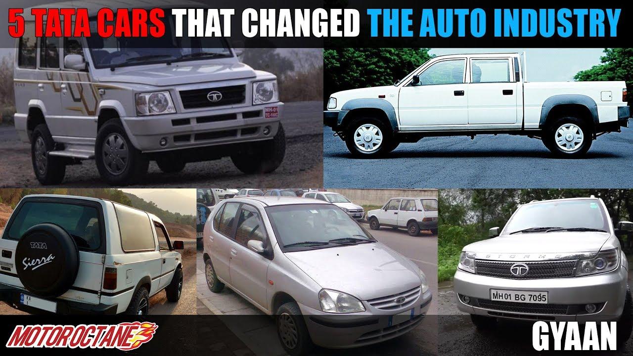 Motoroctane Youtube Video - 5 Tata ki Gaadiyan jisne badla Indian car market ko   Hindi   MotorOctane