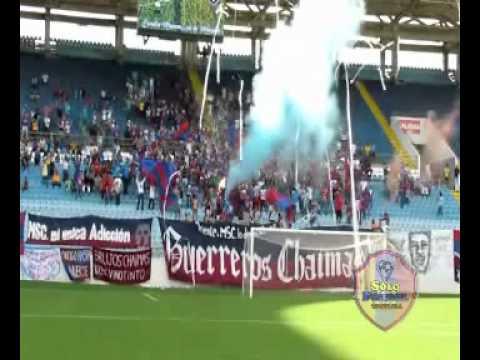 """""""Guerreros Chaimas (Monagas SC)   SoloFutbolVe.Com.Ve"""" Barra: Guerreros Chaimas • Club: Monagas"""