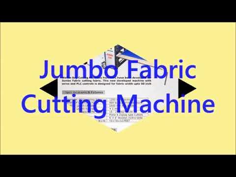 Jumbo Woven Fabric Cutting Machine With Spout