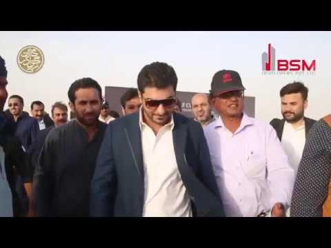 Golf City Gwadar Groundbreaking by Malik Bilal Bashir CEO BSM Developers