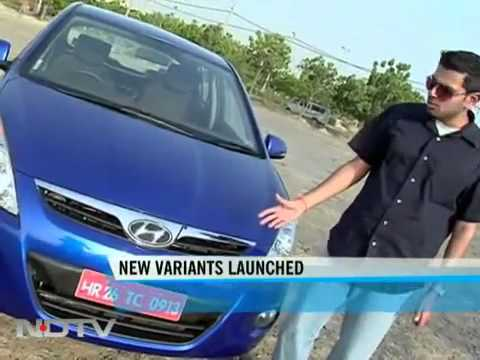 Hyundai i20 first look on NDTV