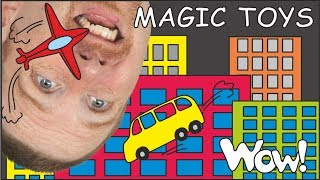 Magic Toys for Kids | English with Steve and Maggie | Magic English Story for Kids by Wow English TV